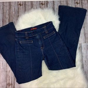 7 for all mankind high waisted fully cut jeans
